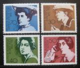 Poštovní známky Německo 1975 Spisovatelky Mi# 826-29