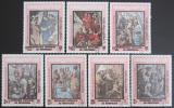 Poštovní známky Kambodža 1983 Umění, Raffael Mi# 480-86