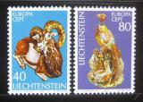 Poštovní známky Lichtenštejnsko 1976 Evropa CEPT Mi# 642-43