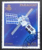 Poštovní známka Paraguay 1989 Vesmírná stanice Mi# 4281