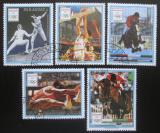 Poštovní známky Paraguay 1989 LOH Barcelona Mi# 4423-27