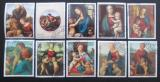 Poštovní známky Paraguay 1982 Umění, Raffael Mi# 3553-59,75-77