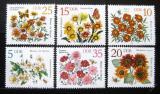 Poštovní známky DDR 1982 Jarní květiny Mi# 2737-42