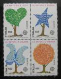 Poštovní známky Itálie 1986 Evropa CEPT Mi# 1968-71 Kat 15€