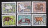 Poštovní známky DDR 1980 Zvířata Mi# 2522-27