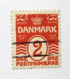 Poštovní známka Dánsko 1917 Nominál Mi# 43 B