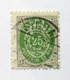 Poštovní známka Dánsko 1898 Královský znak Mi# 29 I Y B Kat 24€