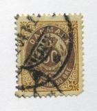 Poštovní známka Dánsko 1897 Královský znak Mi# 30 I Y Bb Kat 30€