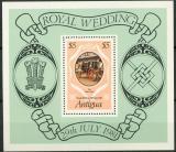 Poštovní známka Antigua 1981 Královská svatba Mi# Block 55