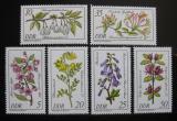 Poštovní známky DDR 1981 Léčivé rostliny Mi# 2573-78