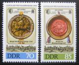 Poštovní známky DDR 1990 Lipský veletrh Mi# 3316-17