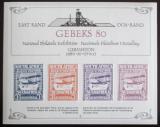 Viněta JAR 1980 Výstava GEBEKS