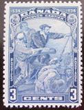 Poštovní známka Kanada 1934 Jacques Cartier Mi# 175