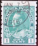Poštovní známka Kanada 1911 Král Jiří V. Mi# 92bD