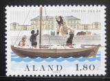Poštovní známka Alandy 1988 Poštovní služby Mi# 26