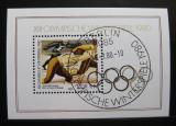 Poštovní známka DDR 1980 ZOH Lake Placid Mi# Block 57