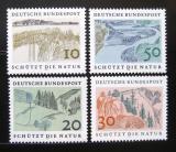 Poštovní známky Německo 1969 Ochrana přírody Mi# 591-94
