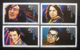 Poštovní známky Německo 1988 Rockové hvězdy Mi# 1360-63