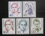 Poštovní známky Německo 1986-87 Slavné ženy