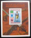 Poštovní známka Mauritánie 1976 Vojenská uniforma Mi# Block 14