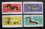 Poštovní známky DDR 1962 Fauna Mi# 869-72