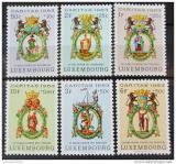 Poštovní známky Lucembursko 1963 Patroni Svatí Mi# 684-89