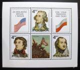 Poštovní známky Polsko 1975 Americká revoluce Mi# Block 63
