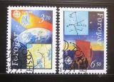 Poštovní známky Faerské ostrovy 1991 Evropa CEPT Mi# 215-16