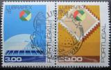Poštovní známky Portugalsko 1976 LUBRAPEX výstava Mi# 1330-31