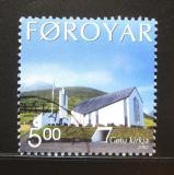 Poštovní známka Faerské ostrovy 2002 Kostel Gota Mi# 433