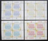 Poštovní známky Fidži 2005 Výročí Evropa CEPT Mi# 1109-12 Kat 34€