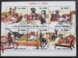Poštovní známky Svatý Tomáš 2010 Kočky a psi Mi# 4308-13