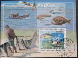 Poštovní známka Svatý Tomáš 2009 Rybaření Mi# Bl 687