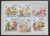 Poštovní známky Svatý Tomáš 2009 Houby, skauting Mi# 4120-23