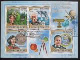 Poštovní známky Svatý Tomáš 2009 Slavní vědci II Mi# 4039-42