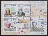 Poštovní známky Svatý Tomáš 2009 Slavní vědci I Mi# 4035-38