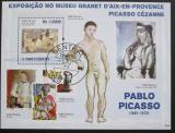 Poštovní známka Svatý Tomáš 2009 Umění, Picasso Mi# Block 738