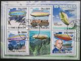 Poštovní známky Svatý Tomáš 2009 Vzducholodě Mi# 4063-66