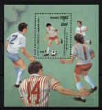Poštovní známka Kambodža 1991 MS ve fotbale Mi# Block 181