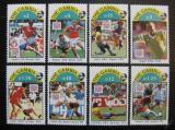 Poštovní známky Gambie 1993 MS ve fotbale Mi# 1769-76