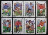 Poštovní známky Gambie 1994 MS ve fotbale Mi# 1954-61