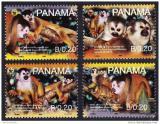 Poštovní známky Panama 2007 Opice, WWF 404 Mi# 1921-24