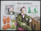 Poštovní známka Svatý Tomáš 2009 Šachy, Paul Morphy Mi# Block 729