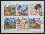 Poštovní známky Svatý Tomáš 2009 Američtí indiáni Mi# 4048-51