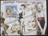 Poštovní známka Svatý Tomáš 2009 Marilyn Monroe Mi# Block 728
