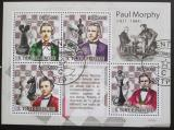 Poštovní známky Svatý Tomáš 2009 Šachy, Paul Morphy Mi# 4221-24