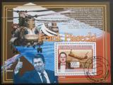 Poštovní známka Guinea 2008 Frank Piasecki Mi# Bl 1587