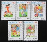 Poštovní známky Laos 1996 MS ve fotbale Mi# 1516-20