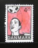 Poštovní známka Dánsko 2003 Fotbal Mi# 1331