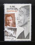 Poštovní známka Dánsko 2001 Výstava HAFNIA Mi# 1287